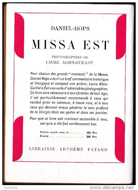 Daniel - Rops - Saint Paul - Librairie Arthème Fayard  / Le Livre Chrétien N° 7 - ( 1952 ) . - Religion