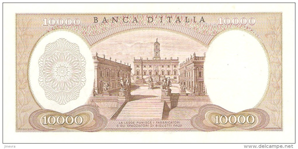ITALY 10000 LIRE 1973 PICK 97f XF/AU - [ 2] 1946-… : Républic
