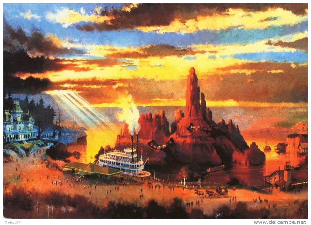 EURO DISNEY FRONTIERLAND BIG THUNDER MOUNTAIN - Disneyland