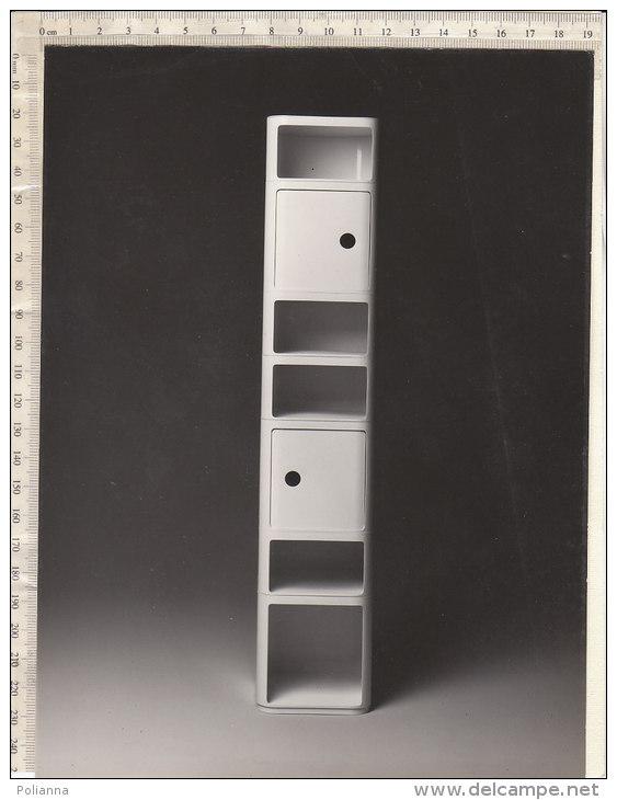 C1718 - FOTOGRAFIA MOBILI MODERNARIATO COMPONIBILI KARTELL- Designer Castelli Ferrieri - Oggetti