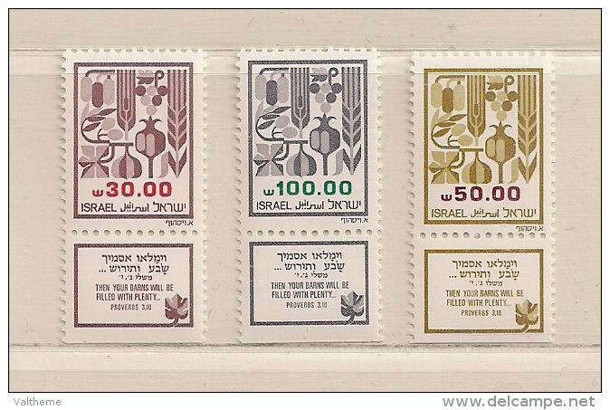 ISRAEL ( D16 - 7019 )   1984  N° YVERT ET TELLIER  N° 904/906      N** - Ongebruikt (met Tabs)