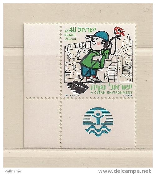 ISRAEL ( D16 - 7112 )   1987  N° YVERT ET TELLIER  N°  1010     N** - Israël