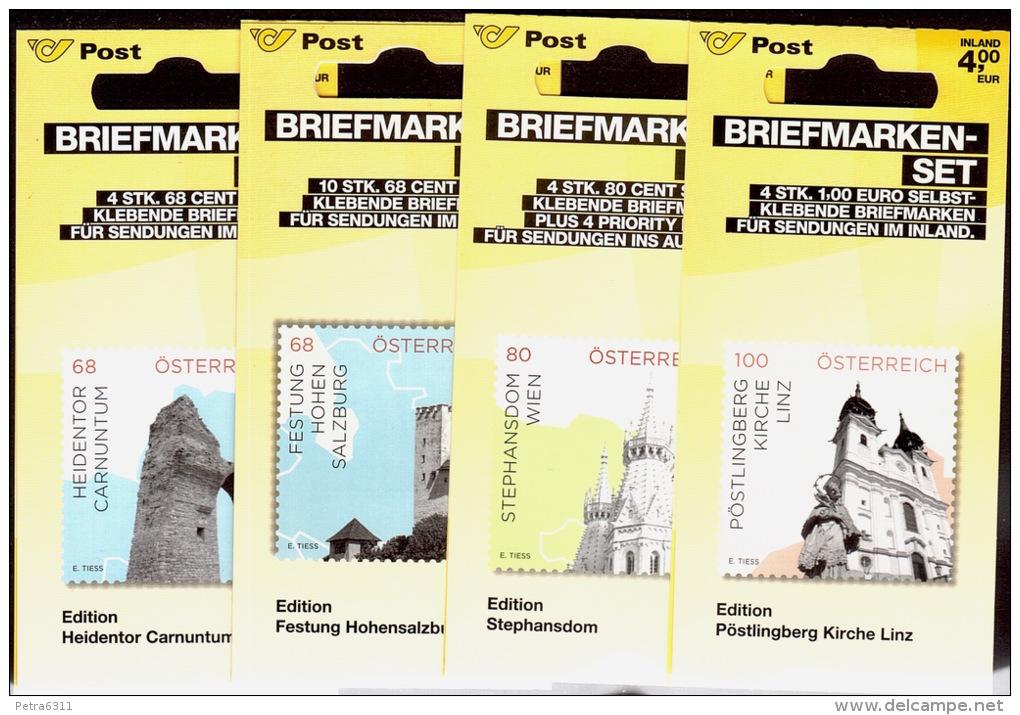 """AUSTRIA ÖSTERREICH 2015 """"Impressionen Aus Österr."""" Briefmarken-Set  MNH / ** / POSTFRISCH - 1945-.... 2nd Republic"""