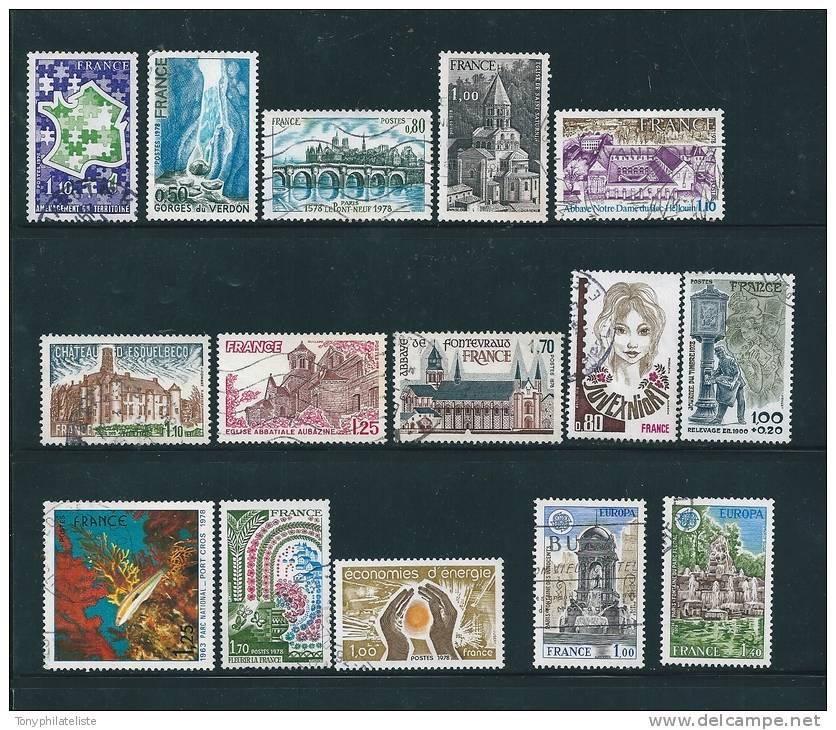 France Timbres De 1978  N°1995  A  2009 Oblitérés - France