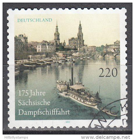 Germany    Scott No  2628     Used    Year  2011 - BRD