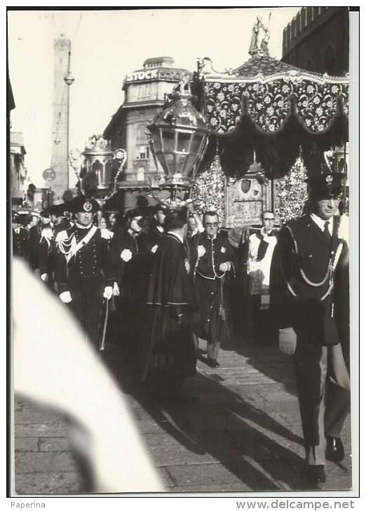 PICCOLA FOTOGRAFIA: MADONNA DI SAN LUCA PROCESSIONE 1969 - Non Classificati