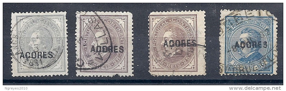 140019805  AZORES  YVERT  Nº   52/55/56/57 - Azores