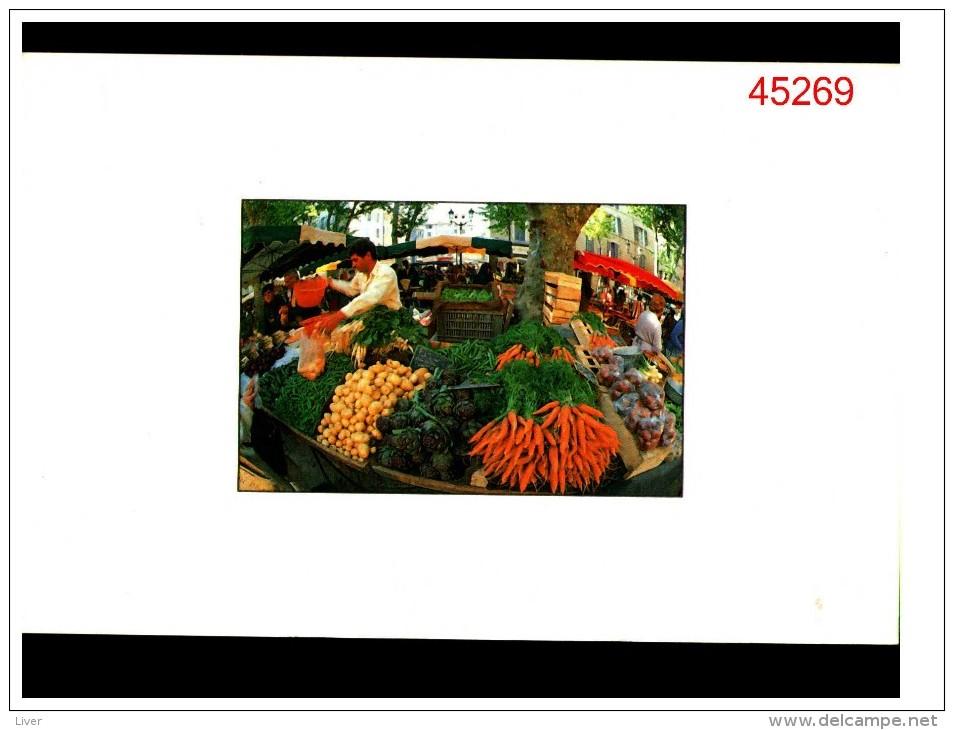 Legumes Au Marché - Cultures