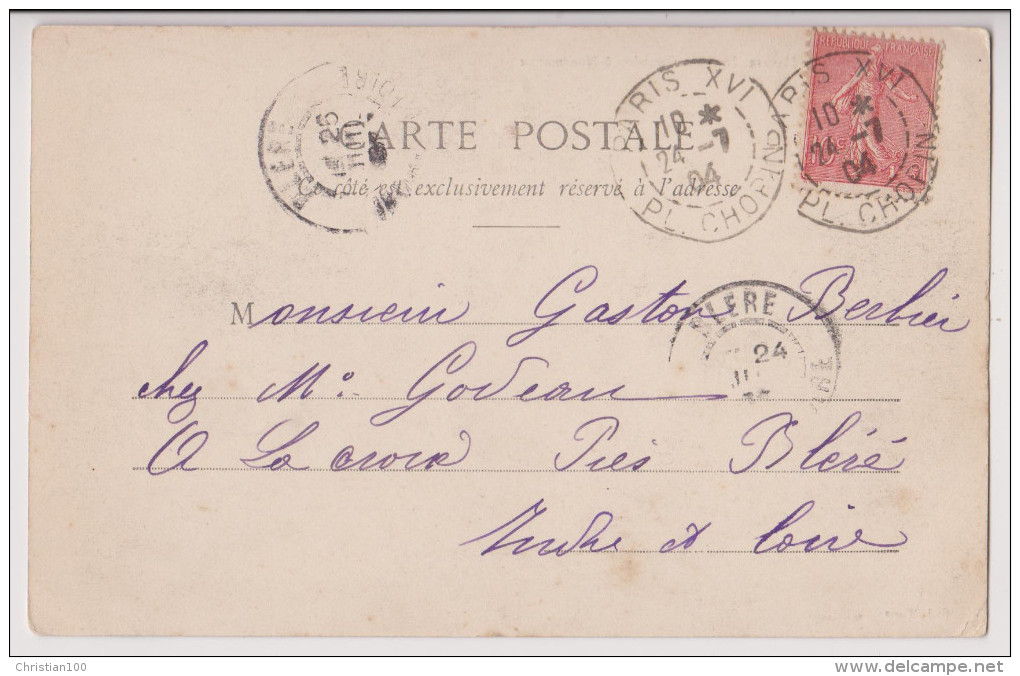 MONTMARTRE : UNE MASURE IMPASSE GIRARDON - ECRITE EN 1904 - 2 SCANS - - Arrondissement: 18