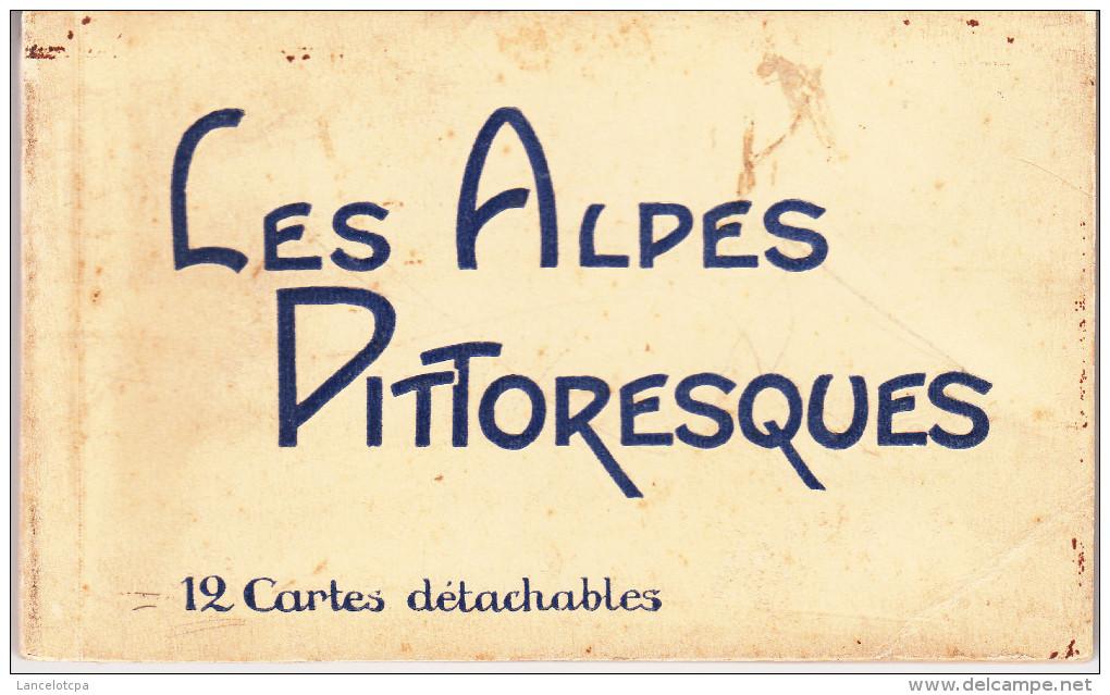 LES ALPES PITTORESQUES - HAUTE VALLEE DU VERDON / CARNET DE 12 CARTES POSTALES - Otros Municipios