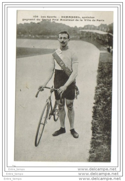 Les Sports Demagel Sprinter Paris - Cyclisme