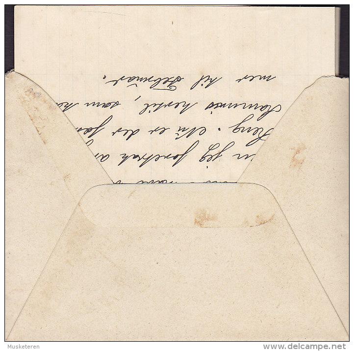 Denmark LEMVIG 1903 Cover Brief To VIGERSDALSGAARD Pr. Ringsted Incl. Original Letter (2 Scans) - Briefe U. Dokumente
