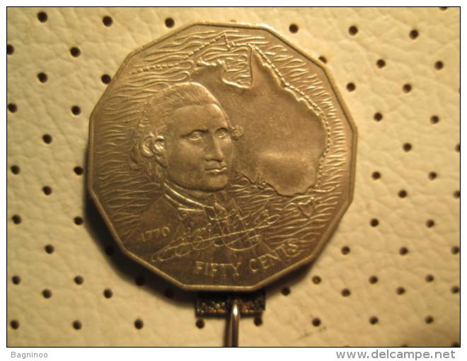 AUSTRALIA 50 Cents 1970   # 1 - Decimale Munt (1966-...)