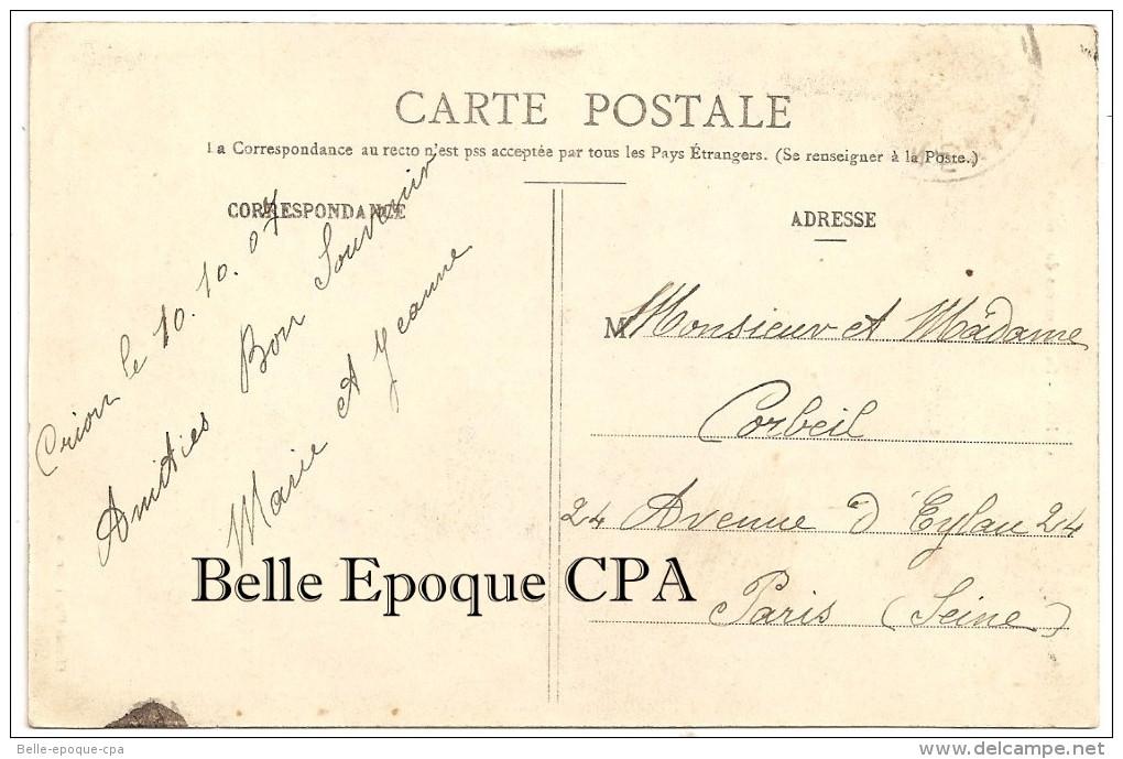 54 - CRION - Deux Entrées Du Village +++++ Clichés Henri Carabin ++++ Vers Paris, 1907 ++ - Autres Communes