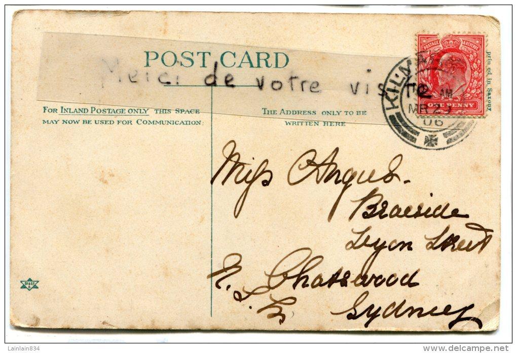 - 25332 - Fountain,  Kay Park, Kilmarnoch, Animation, Rare, écrite En 1906, To Sydney,  Australia, De L´usure, Scans.t. - Ayrshire