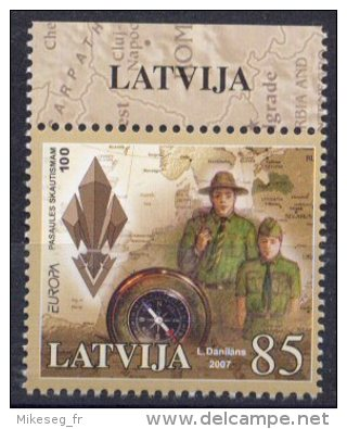 Europa - 2007 - Lettonie Latvija ** - 2007
