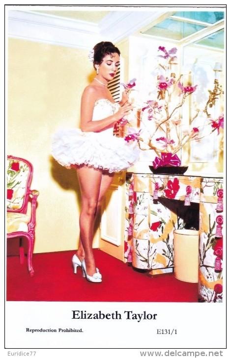 ELIZABETH TAYLOR - Film Star Pin Up - Publisher Swiftsure Postcards 2000 - Artiesten