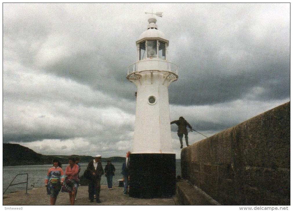 Postcard - Mevagissey Lighthouse, Cornwall. SMH104 - Lighthouses