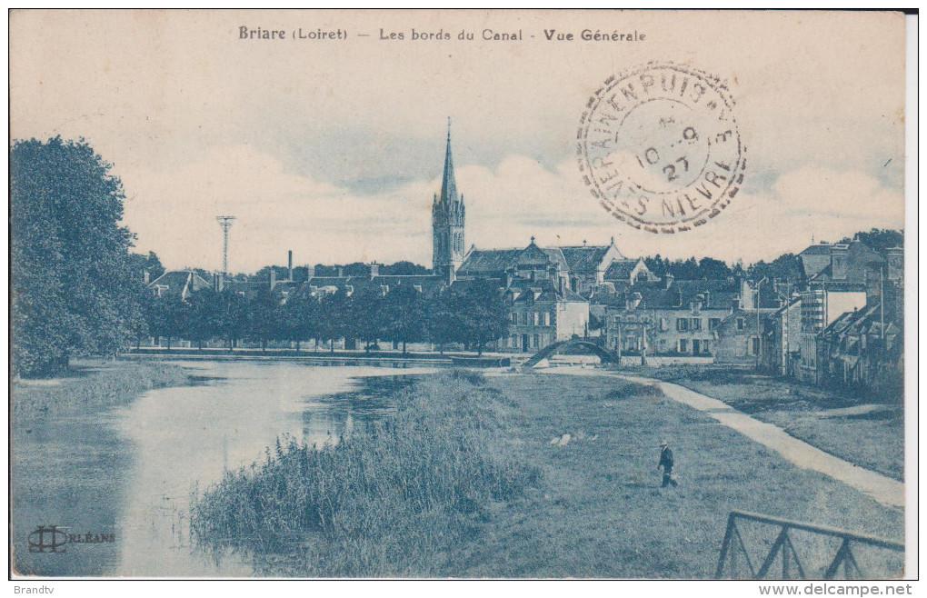 45 -BRIARE-bords Du Canal - Briare