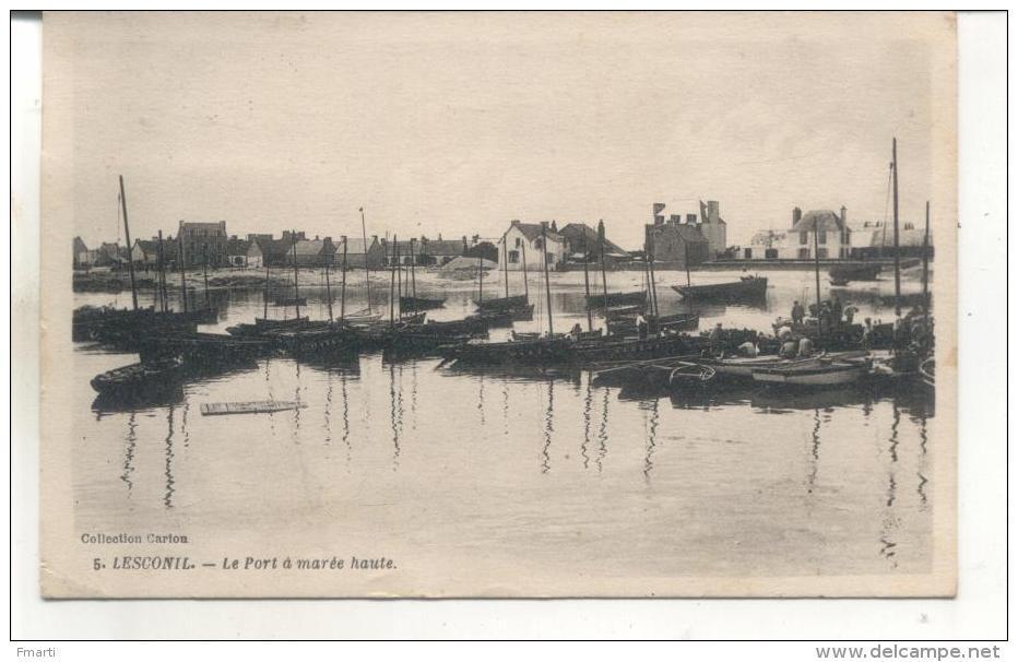5. Lesconil, Le Port à Marée Haute - Lesconil