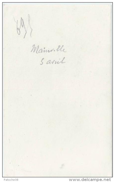 E2 Guerre 1914-18 - Mainville - Photo De Groupe Des Officiers Et Sous-Officiers - War, Military