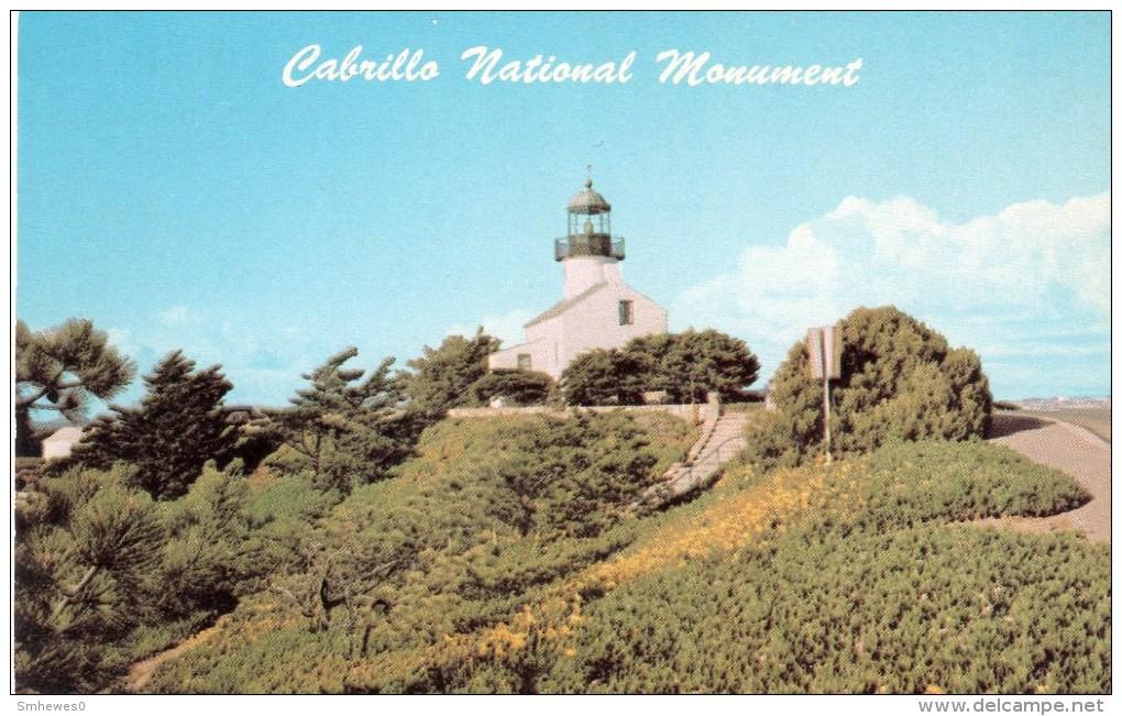 Postcard - Point Loma Old Lighthouse, California, USA. KV5825 - Lighthouses