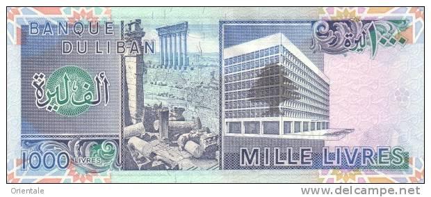 LEBANON P. 69a 1000 L 1988 UNC - Liban