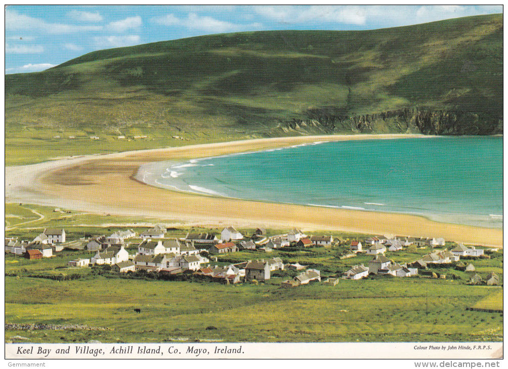 CO MAYO - KEEL BAY @ VILLAGE. ACHILL ISLAND - Mayo