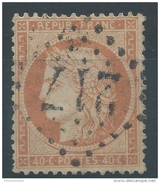Lot N°27740     N°38, Oblit GC 217 AUDINCOURT(24), Ind 3 - 1870 Siege Of Paris