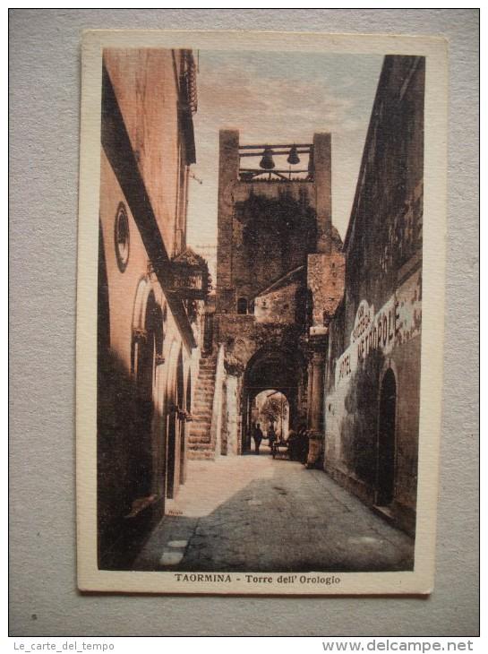Cartolina/postcard TAORMINA (Messina) Torre Dell'Orologio - Messina