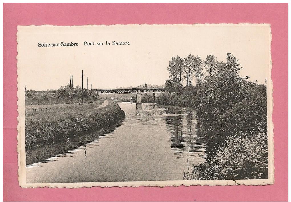 C.P. Solre- Sur Sambre  :  Le  Pont   Sur  La  Sambre - Erquelinnes