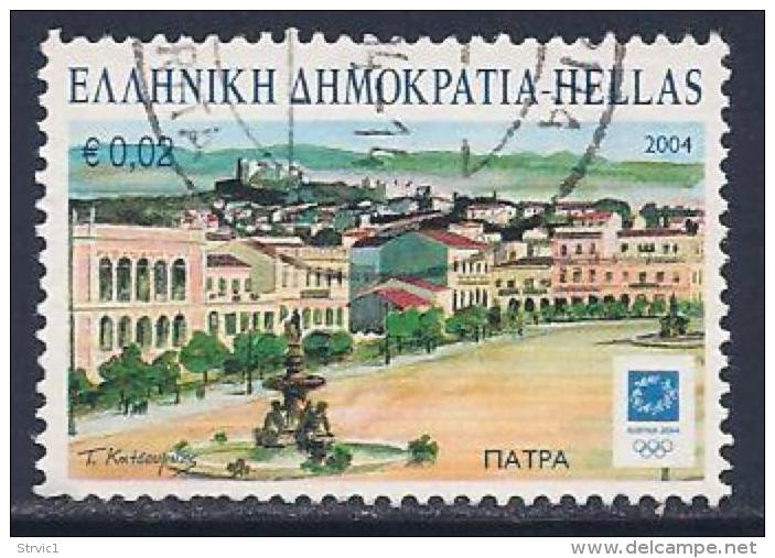 Greece, Scott # 2099 Used Olympic Host Cities, Patra, 2004 - Greece