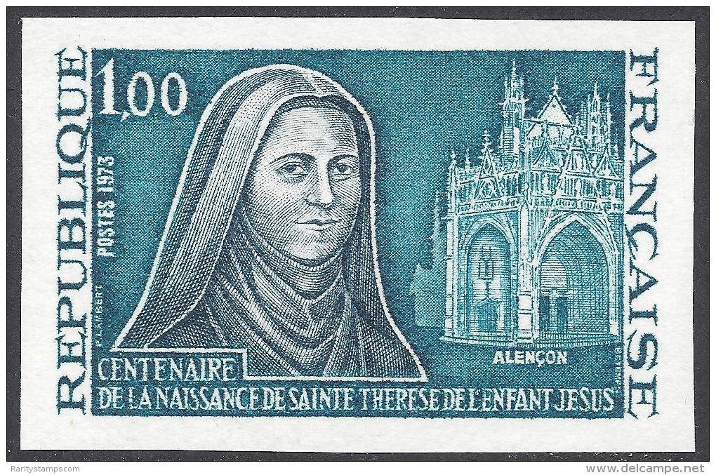 FRANCE 1973 NON DENTELE Nº 1737a IMPERF - France