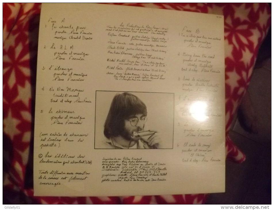 """Album 33t/12\"""".   PIERRE FOURNIER.  Tu N'étais Pas Dans Mes Souliers... 1981. - Vinyles"""