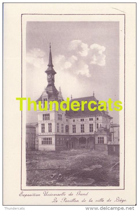 CPA EXPOSITION UNIVERSELLE DE GAND GENT TENTOONSTELLING 1913 ** LA PAVILLON DE LA VILLE DE LIEGE - Expositions