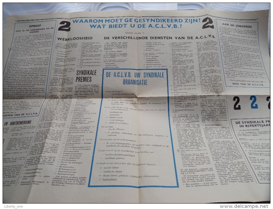 DE LIBERALE SYNDICALIST Maandblad ( Armand Colle ) 35ste Jaargang Nr. 431 Maart 1967 ( Voir Photo Pour Détail ) ! - Old Paper