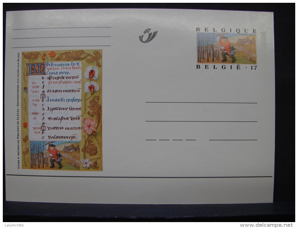 MP. 113. 17 Francs. Livres D'Heures De Philippe De Clèves - Illustrat. Cards