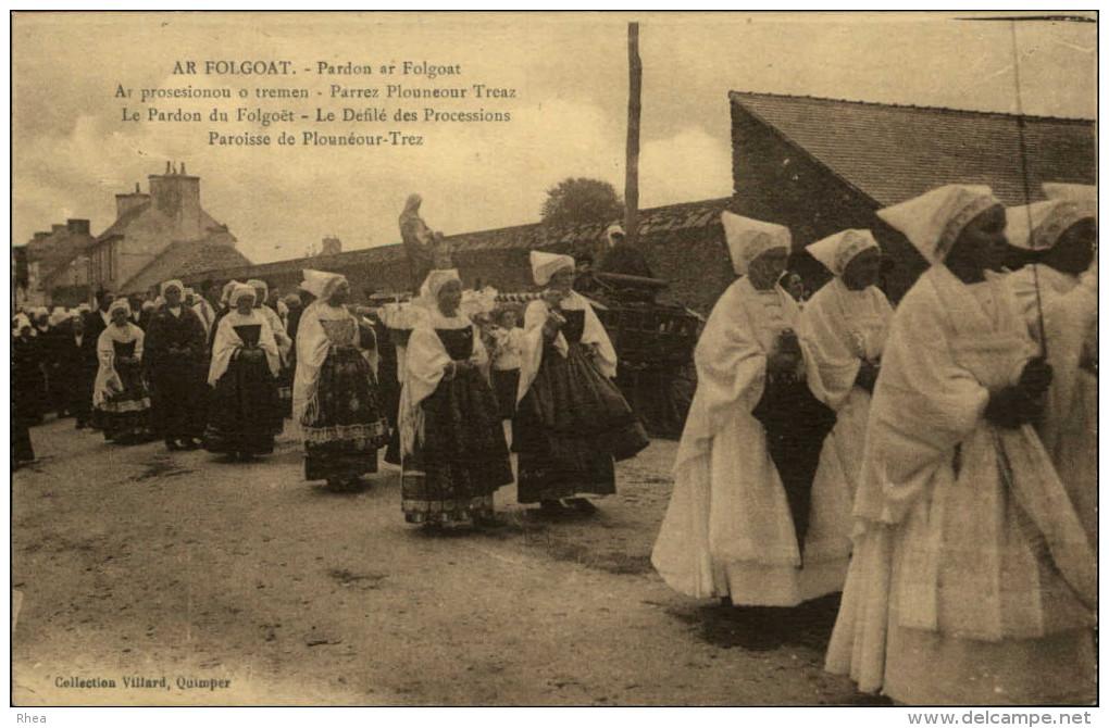 29 - PLOUNEOUR-TREZ - Procession - France