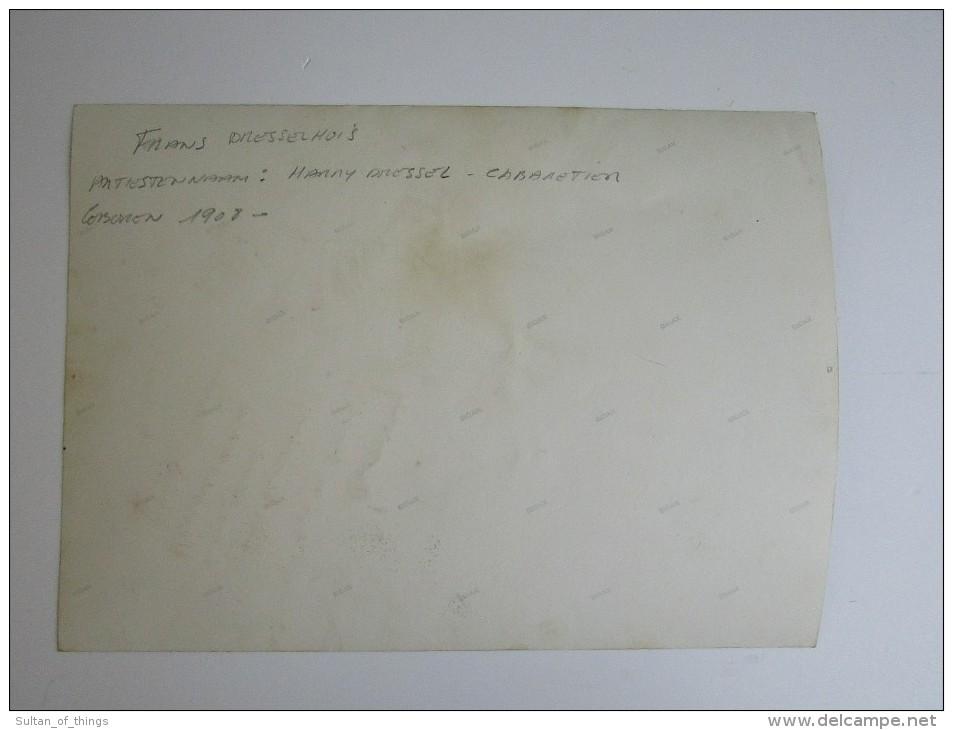 Harry Dressel Gesigneerde Artiesten Foto 22,5 X 16,5 Cm Photo Cabaretier Danse Spirou Signature - Autographes