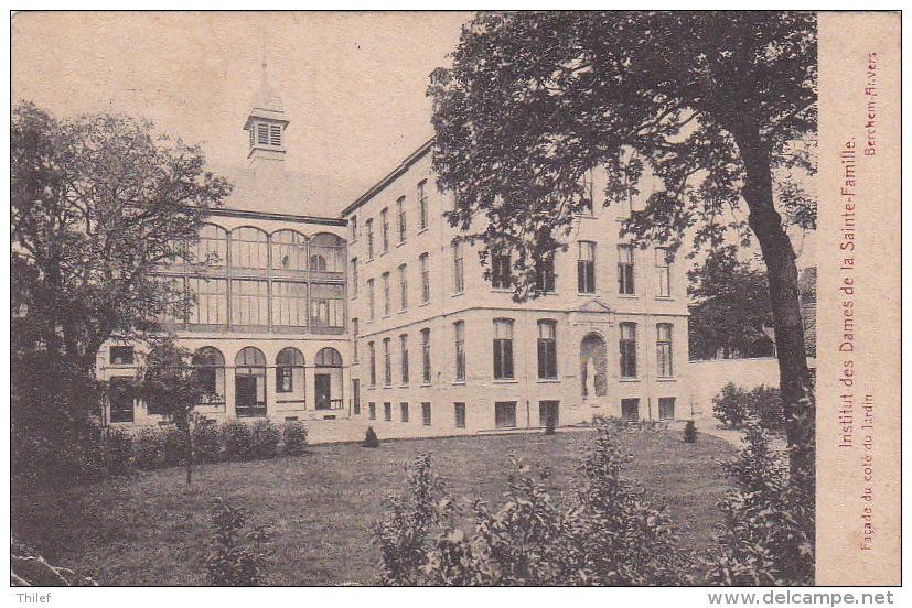 Berchem 19: Institut Des Dames De La Sainte-Famille. Façade Du Côté Du Jardin 1914 - Antwerpen