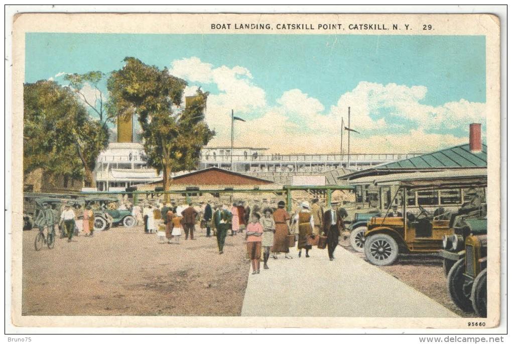 Boat Landing, Catskill Point, Catskill, N.Y. - Catskills
