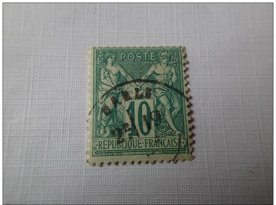 65 TTB Cote 20€. - 1876-1878 Sage (Type I)
