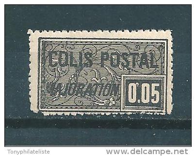 Timbres Pour Colis Postaux De 1918 N°15 Neuf * - Neufs