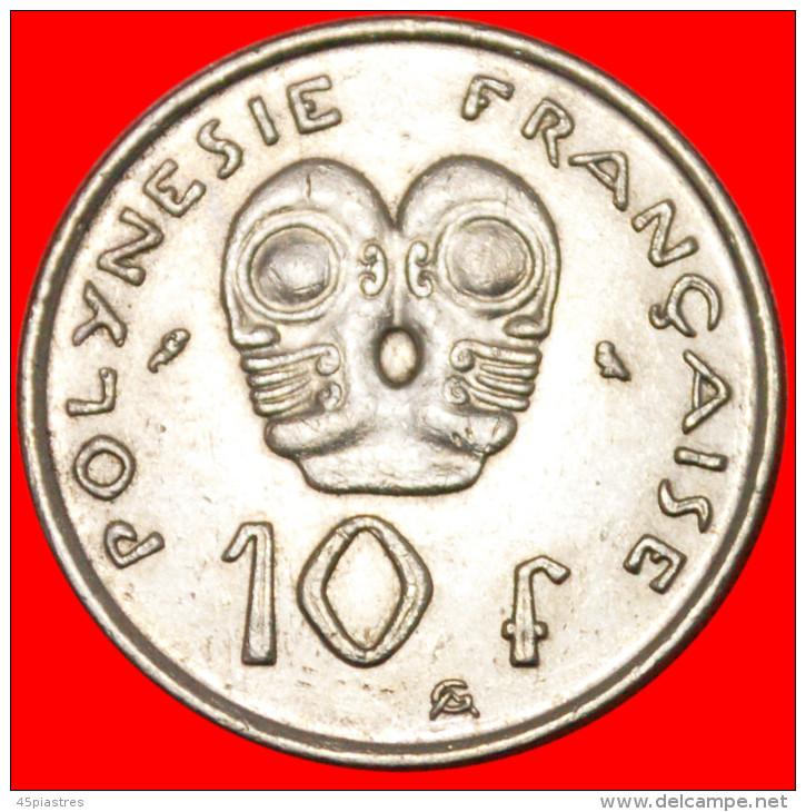 ★TIKIS★FRENCH POLYNESIA ★10 FRANCS 1973! LOW START★NO RESERVE! - Polynésie Française
