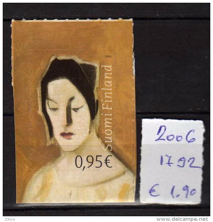 Finland 2006.Autoportrait. Painting.MNH. - Unused Stamps