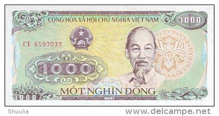 Vietnam 1000 Dong 1988 Pick 106 UNC - Vietnam