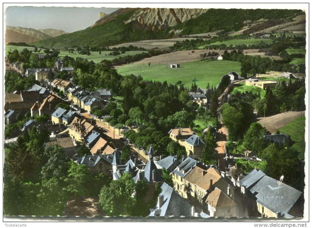 CPSM 38  MONESTIER DE CLERMONT EN AVION AU DESSUS DE ...1962  Grand Format 15 X 10,5 - Autres Communes