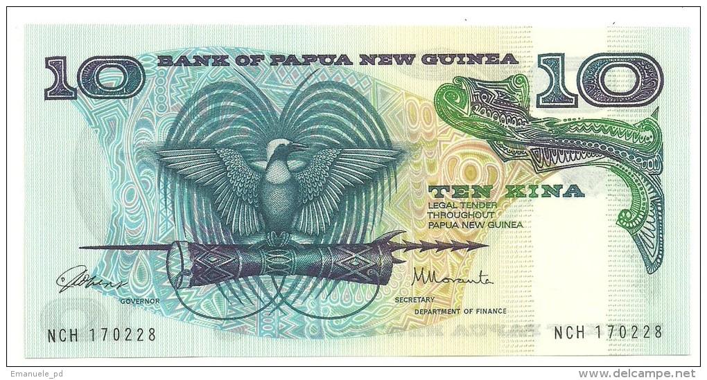 Papua New Guinea 10 Kina 1985 UNC - Papua New Guinea