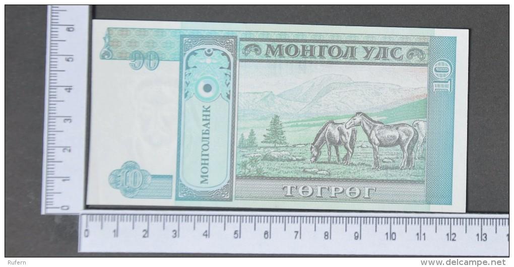MONGOLIA  10  TUGRIK  1993     -    (Nº11429) - Mongolei