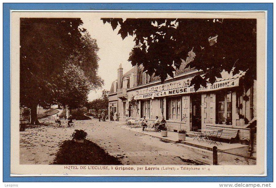 45 - GRIGNON -- Hôtel De Ecluses - - Autres Communes